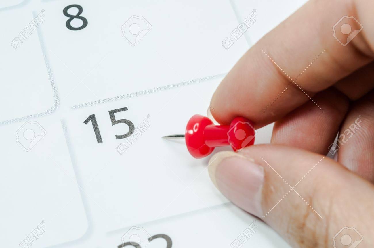 Rossi Sul Calendario.Perni Rossi Segnano Il 15 Sul Calendario