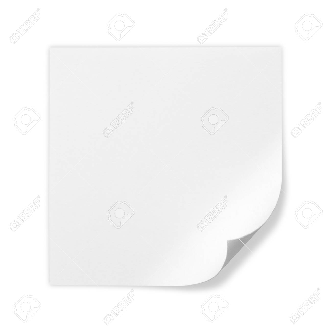 Bright White Paper Blank On White Background Stock Photo Picture And Royalty Free Image Image 28579815