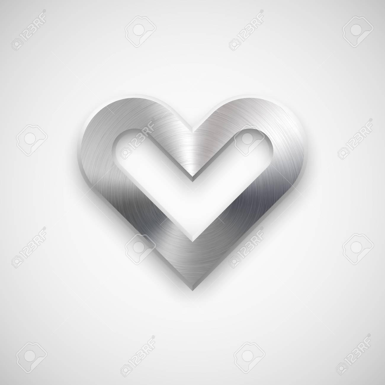 Zusammenfassung Herz Zeichen Abzeichen, Valentinstag Leere ...