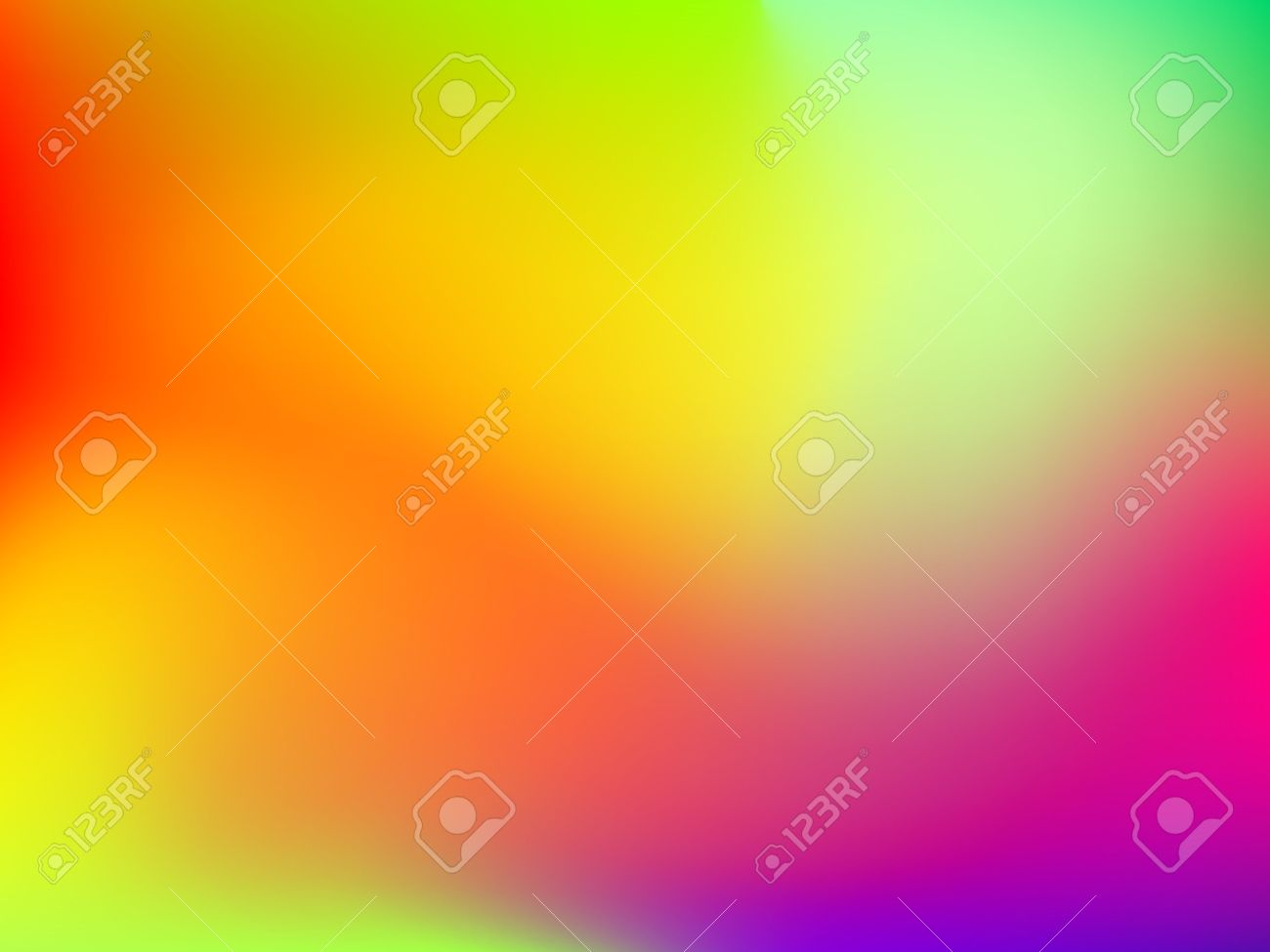 Abstract blur colorful gradient background with red, yellow, blue, cyan and green colors for deign concepts, wallpapers, web, presentations and prints. Vector illustration. - 58046046