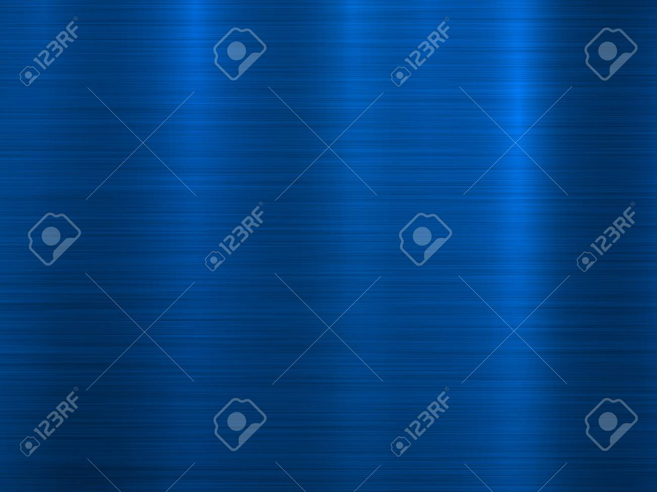 Blue metal technology horizontal background with polished, brushed texture, chrome, silver, steel, aluminum for design concepts, wallpapers, web, prints and interfaces. Vector illustration. - 99131492