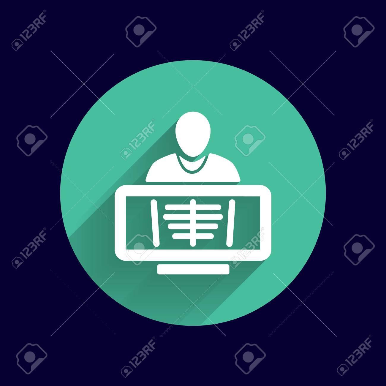 X-Ray Costilla Humana Símbolo De La Jaula Para Descargar Icono ...