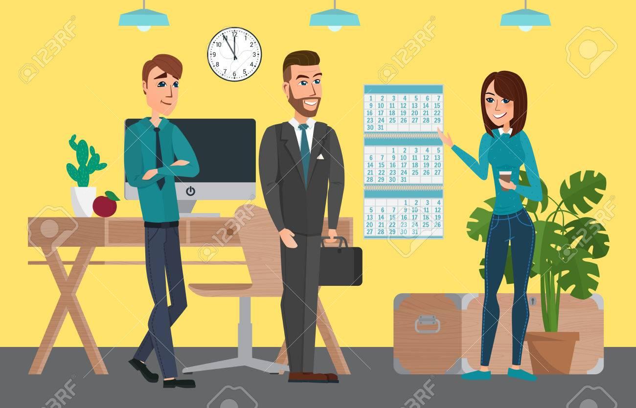 Business Professionelle Arbeit Team Leute Die Sitzung Diskussion