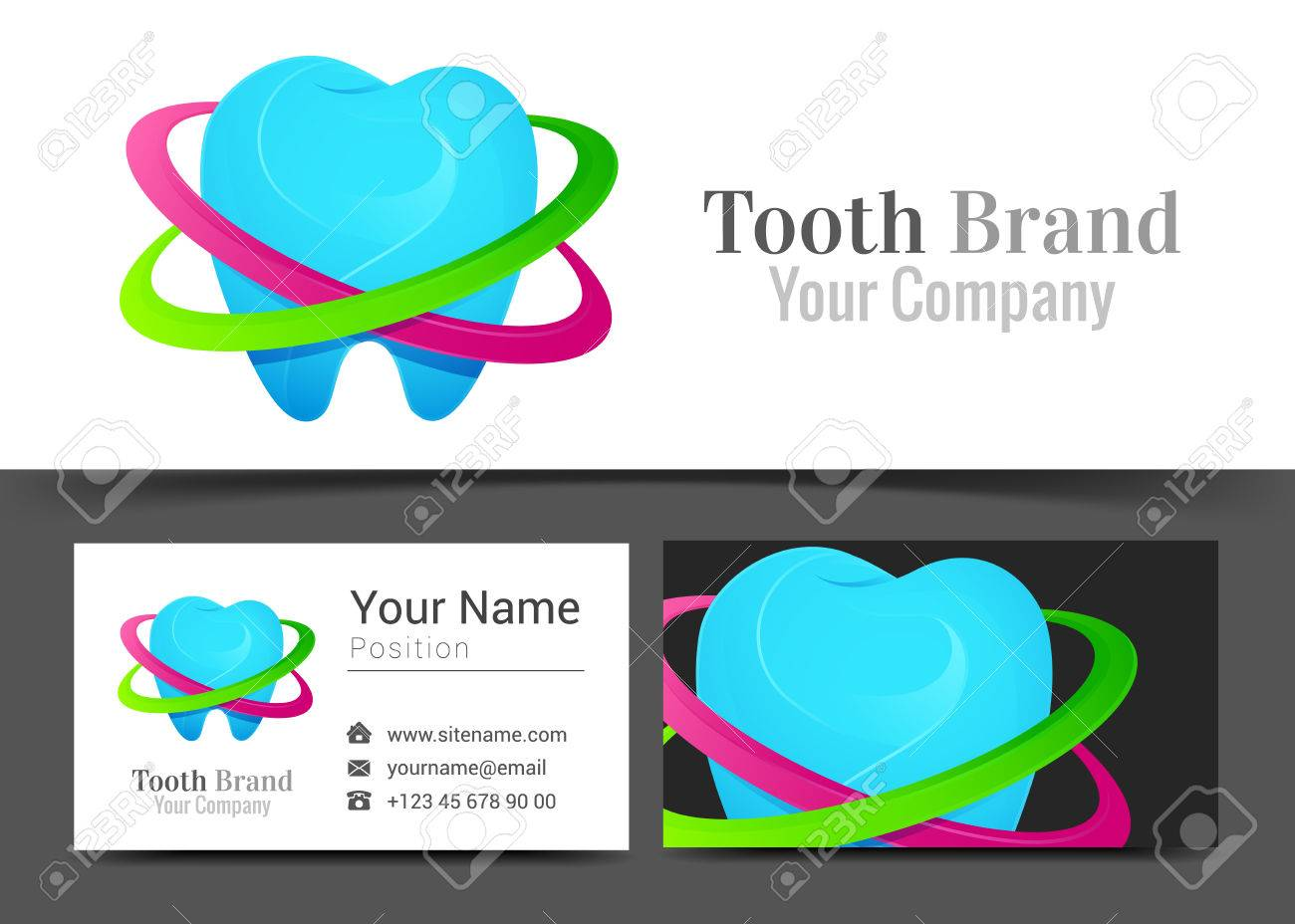 Business card sign choice image free business cards dental corporate logo and business card sign template creative dental corporate logo and business card sign magicingreecefo Images