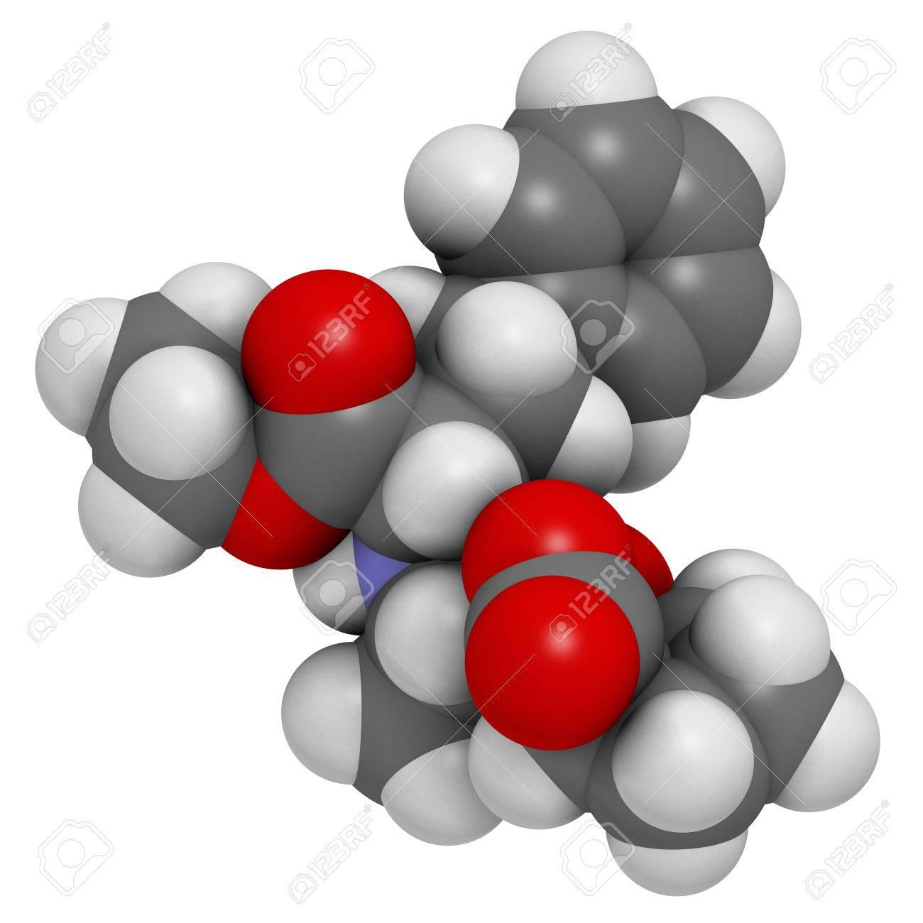 Enalapril high blood pressure drug molecule  Angiotensin Converting
