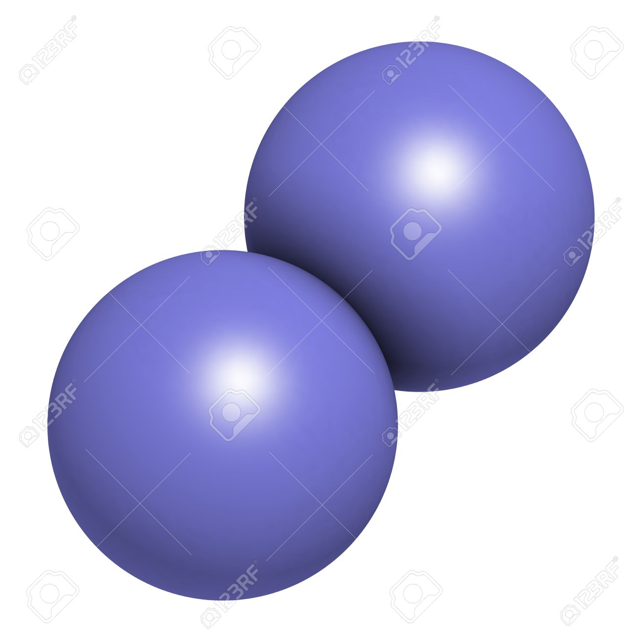 nitrogen  N2  molecule   N2 Molecule
