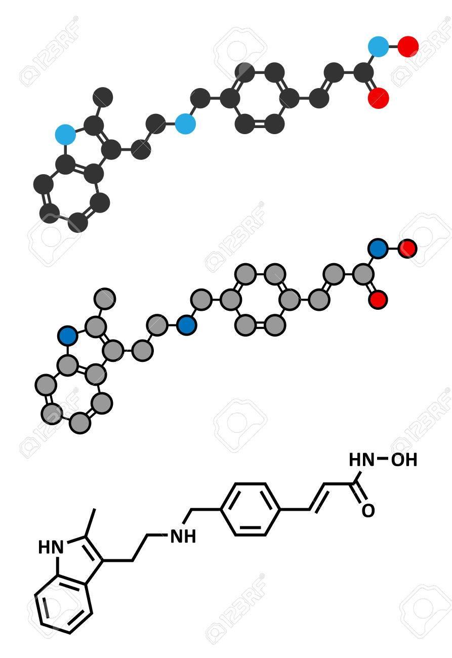 パノビノスタットがん薬物分子 ヒストン脱アセチル化酵素阻害剤従来
