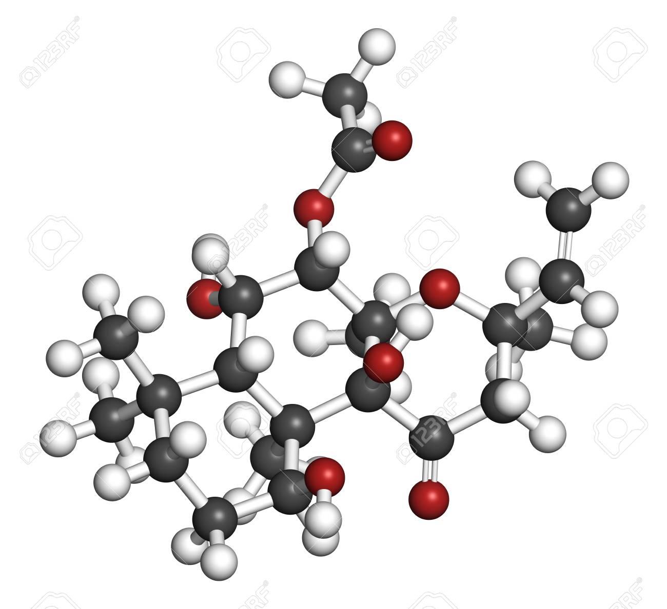 フォルスコリン (coleonol) 分子...
