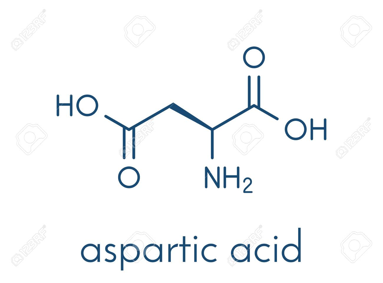 Image result for aspartic acid icon