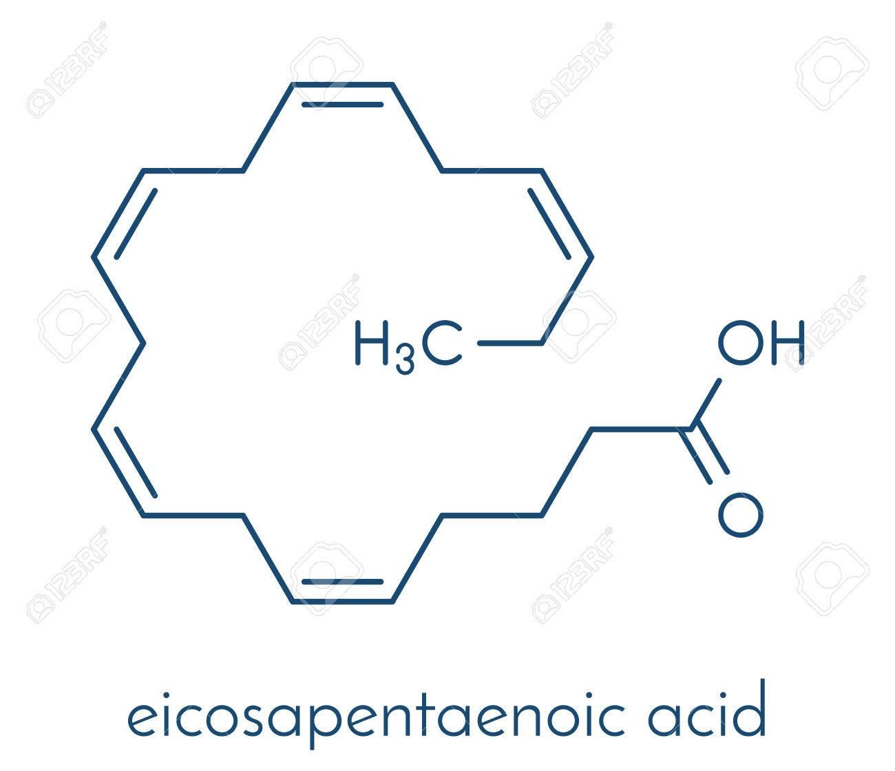 Eicasapentaenoic acid epa timnodonic acid molecule eicasapentaenoic acid epa timnodonic acid molecule polyunsaturated omega 3 fatty acid pooptronica