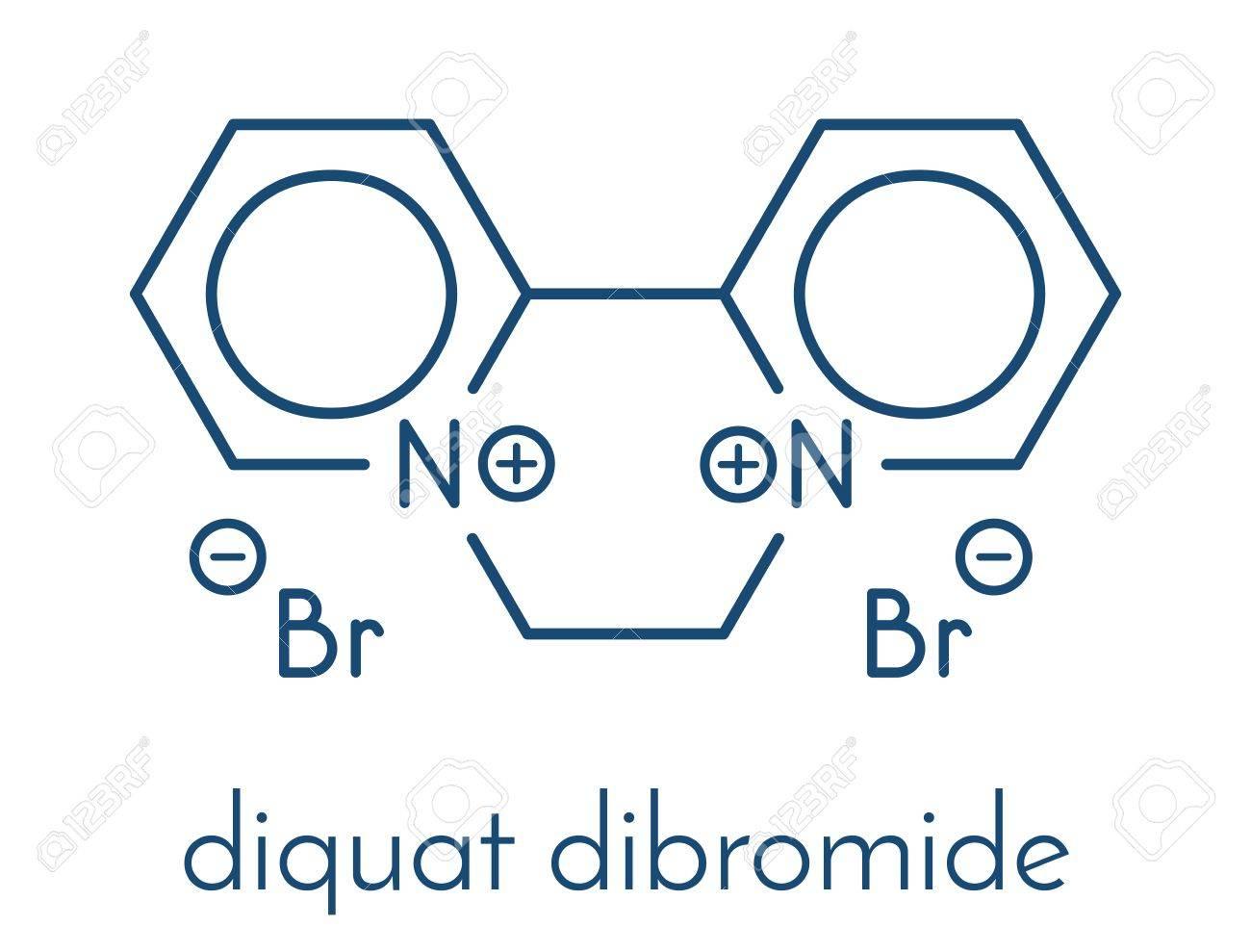 二臭化ジクワットは、除草剤分子...