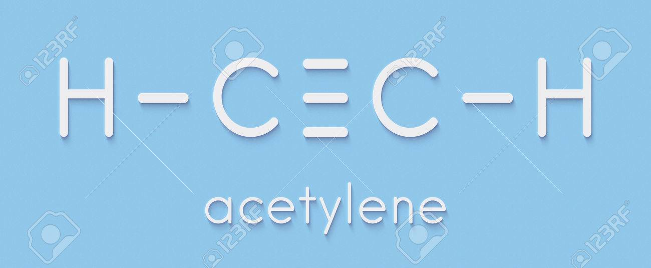 Acetylene ethyne molecule used in oxy acetylene welding skeletal used in oxy acetylene welding skeletal formula publicscrutiny Image collections