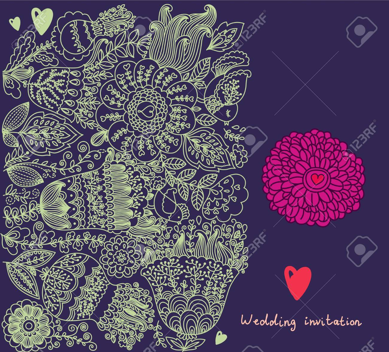 Vector floral background Stock Vector - 15384305