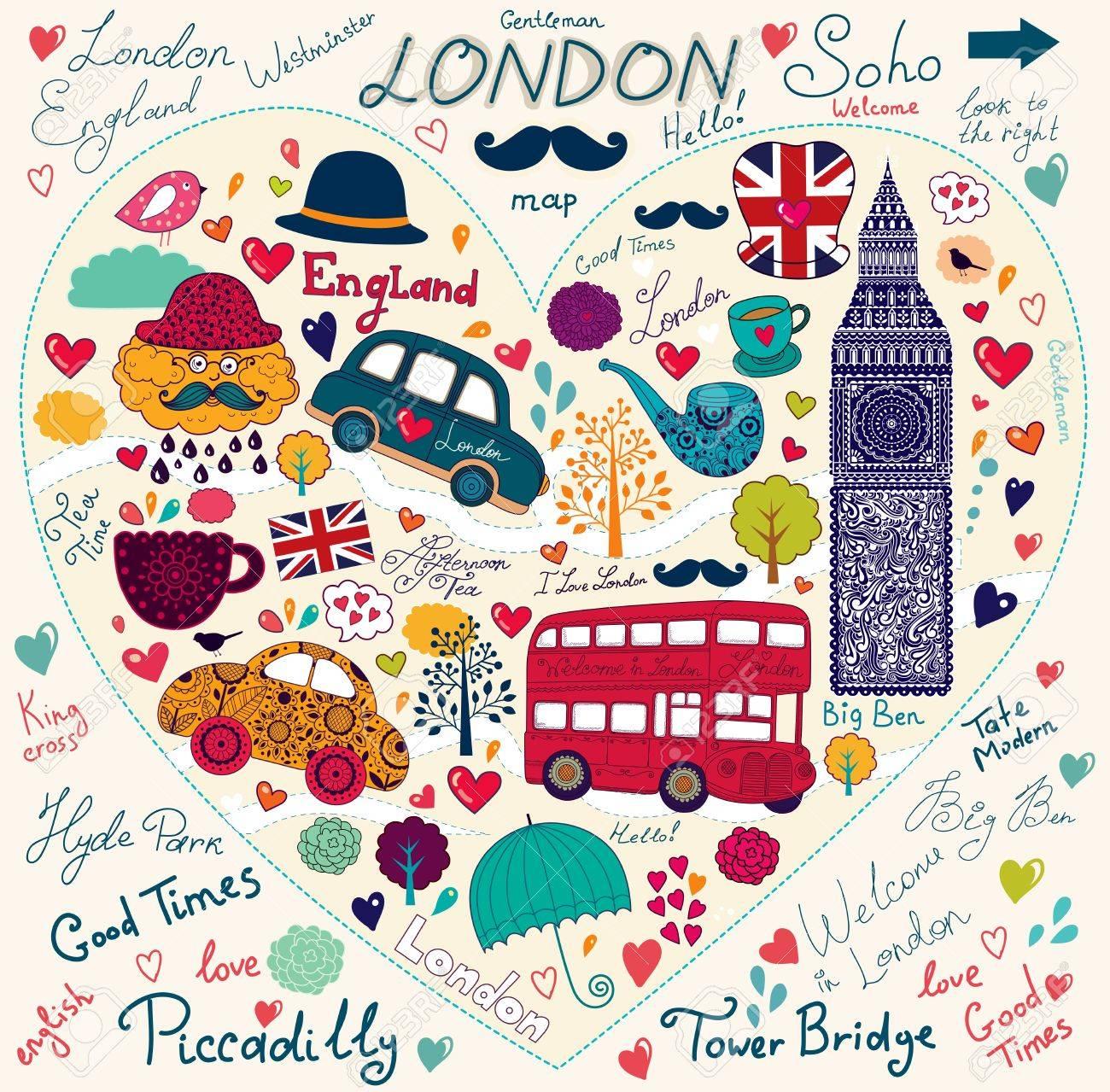 http://previews.123rf.com/images/moleskostudio/moleskostudio1209/moleskostudio120900118/15381879-Vector-set-of-London-symbols-and-landmarks-Stock-Vector-london-england-flag.jpg