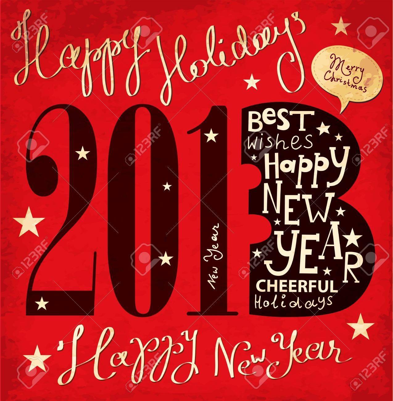 Christmas card Stock Vector - 16439878