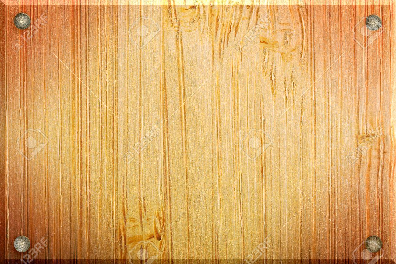 Illustrated Wood Frame Texture Of A Piece Of Timber Bamboo Stock