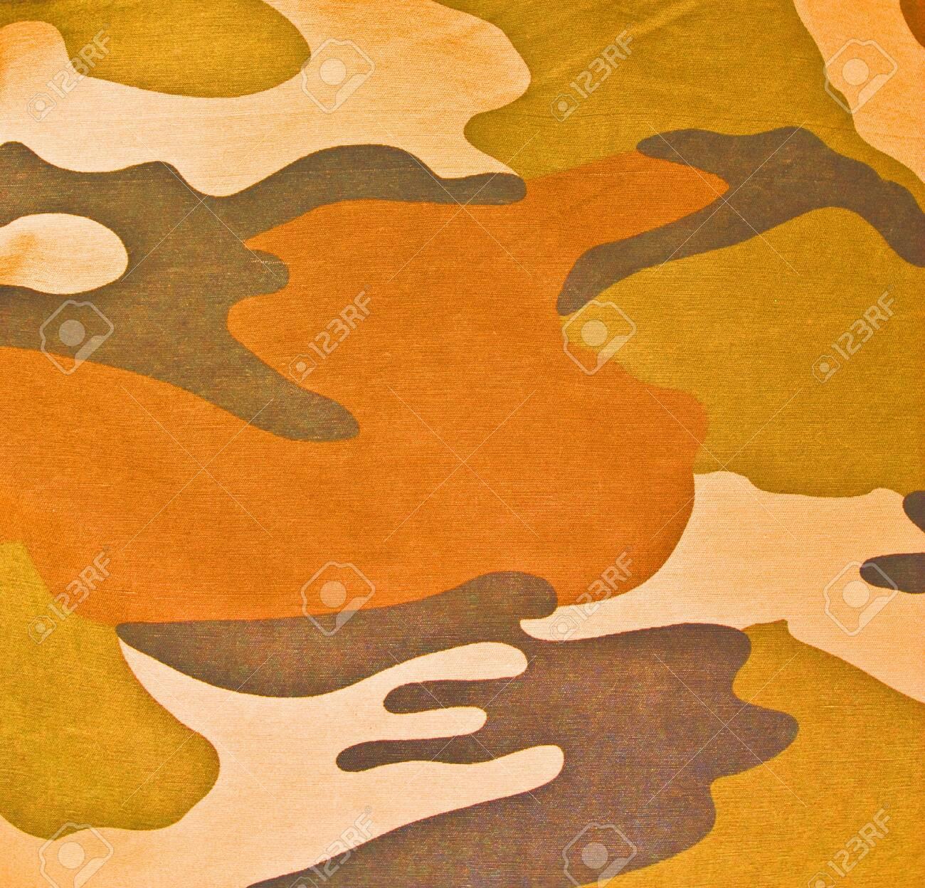 Military texture (brown, black, marsh, green colors) - 147808254