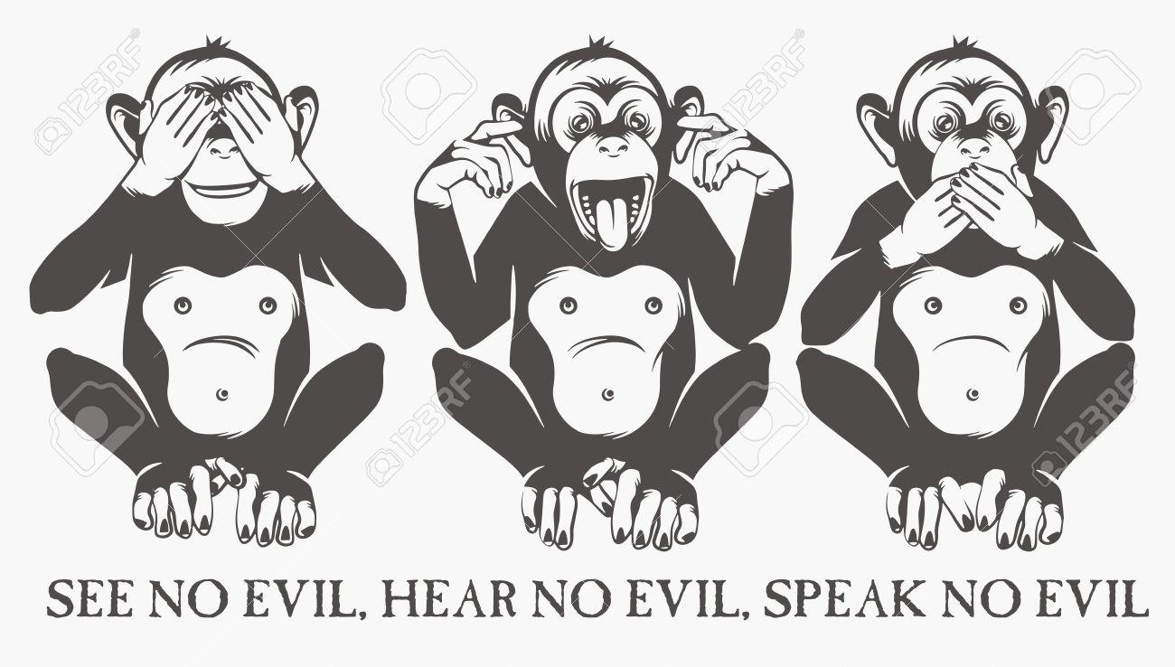 The three wise monkeys - 35588576