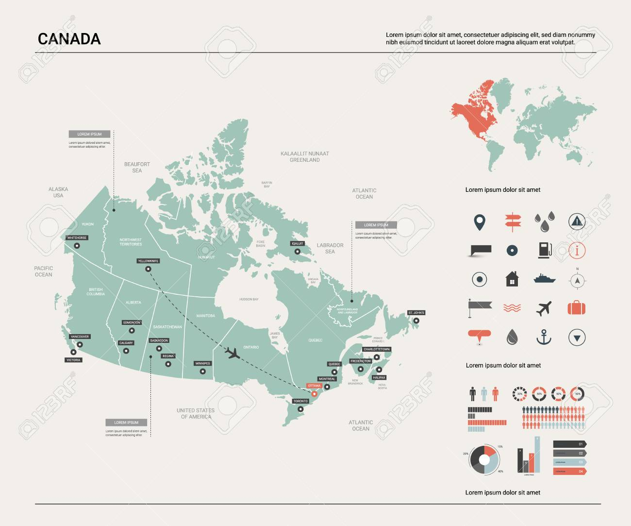 Vector map of Canada. High detailed country map with division,.. on map of canada first nations tribes, map of canada with cities, map of canada abbreviations, canada map with states and capitals, map of canada provinces, u.s. map capitals, map of downtown montreal canada hotels, map mexico capitals, map of canada nhl teams, french canada map capitals, map australia capitals, map of canada geographical features, map of quebec and ontario canada, map of us and canada, map of canada landscape, map of canada seas, map of canada new york, map of countries near the netherlands, map of canada languages, map of canada history,