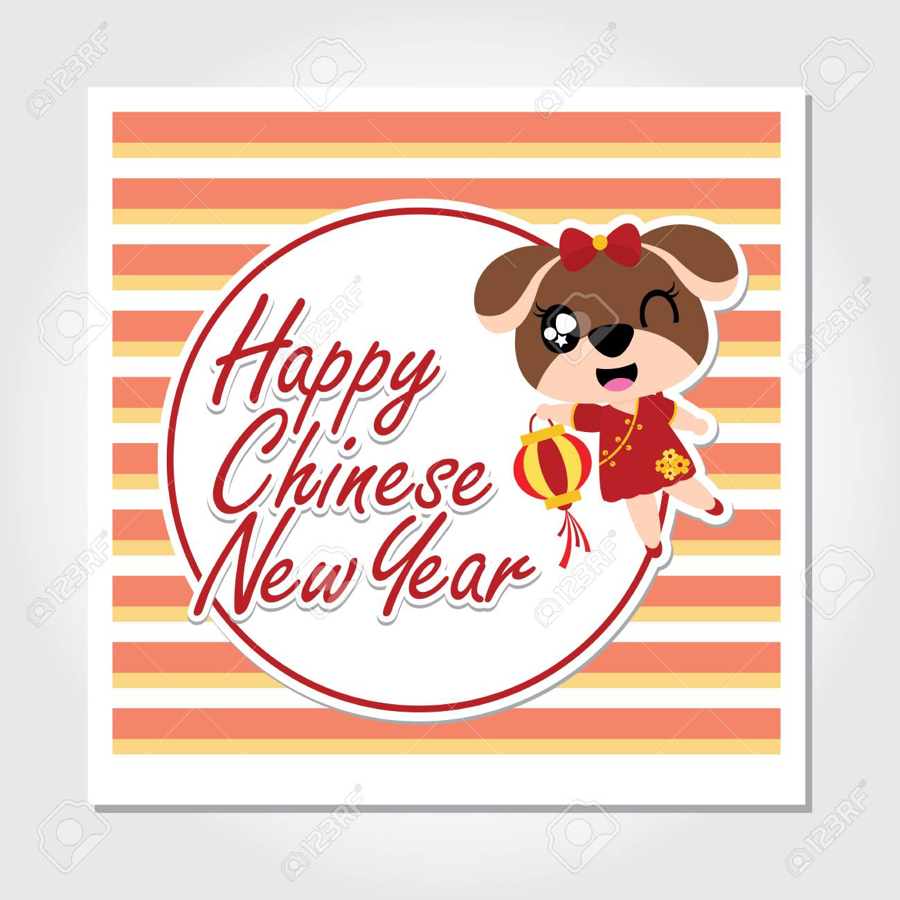 Cute Puppy Brings Lantern Vector Cartoon Illustration For Chinese Royalty Free Cliparts Vectors And Stock Illustration Image 90510295