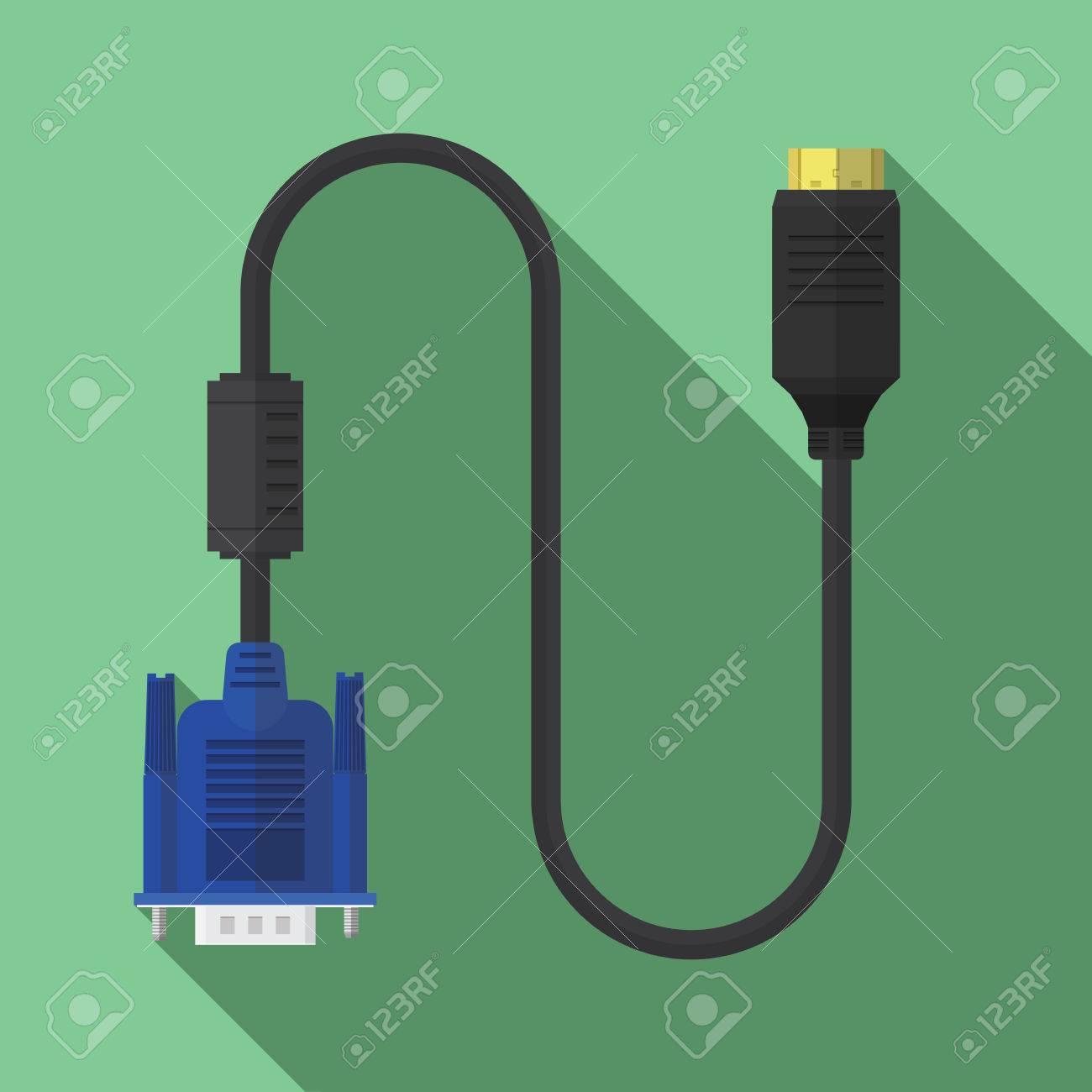 Vga to hdmi cable icon