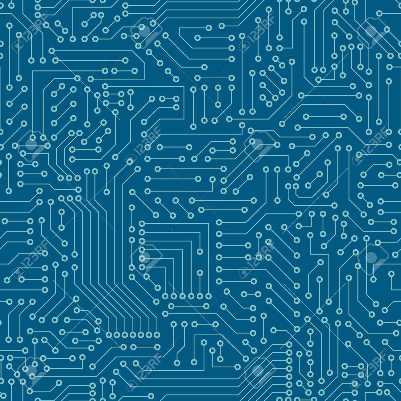 seamless pattern computer circuit board royalty free cliparts rh 123rf com