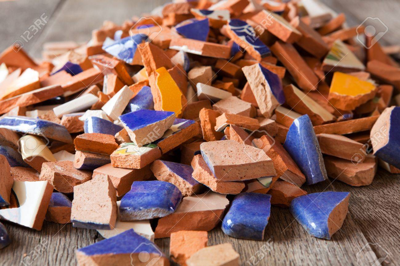 Small tiles for crafts - Mosaic Ceramic Tiles For Crafts Broken Ceramics Broken Tiles For A Mosaic Arts And Crafts