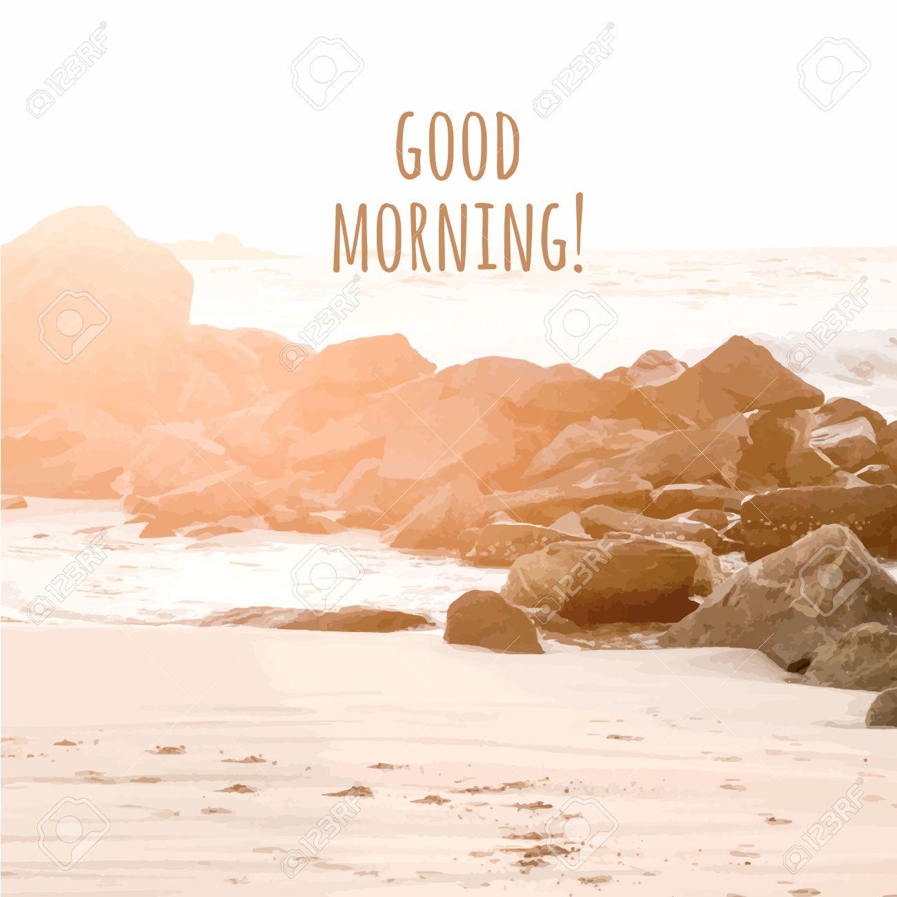 Картинки по запросу доброе утро пляж