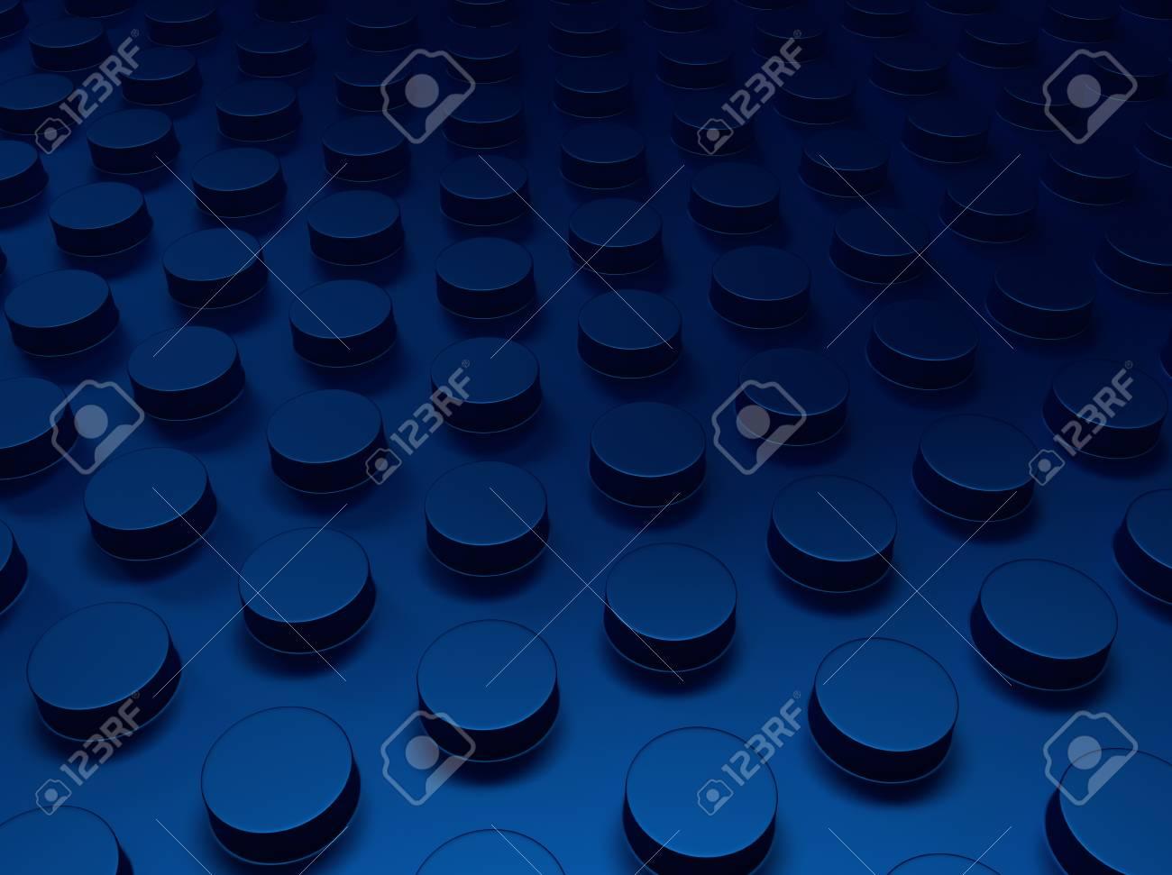 Blue industrial metallic background with dots (floor) Stock Photo - 18701965