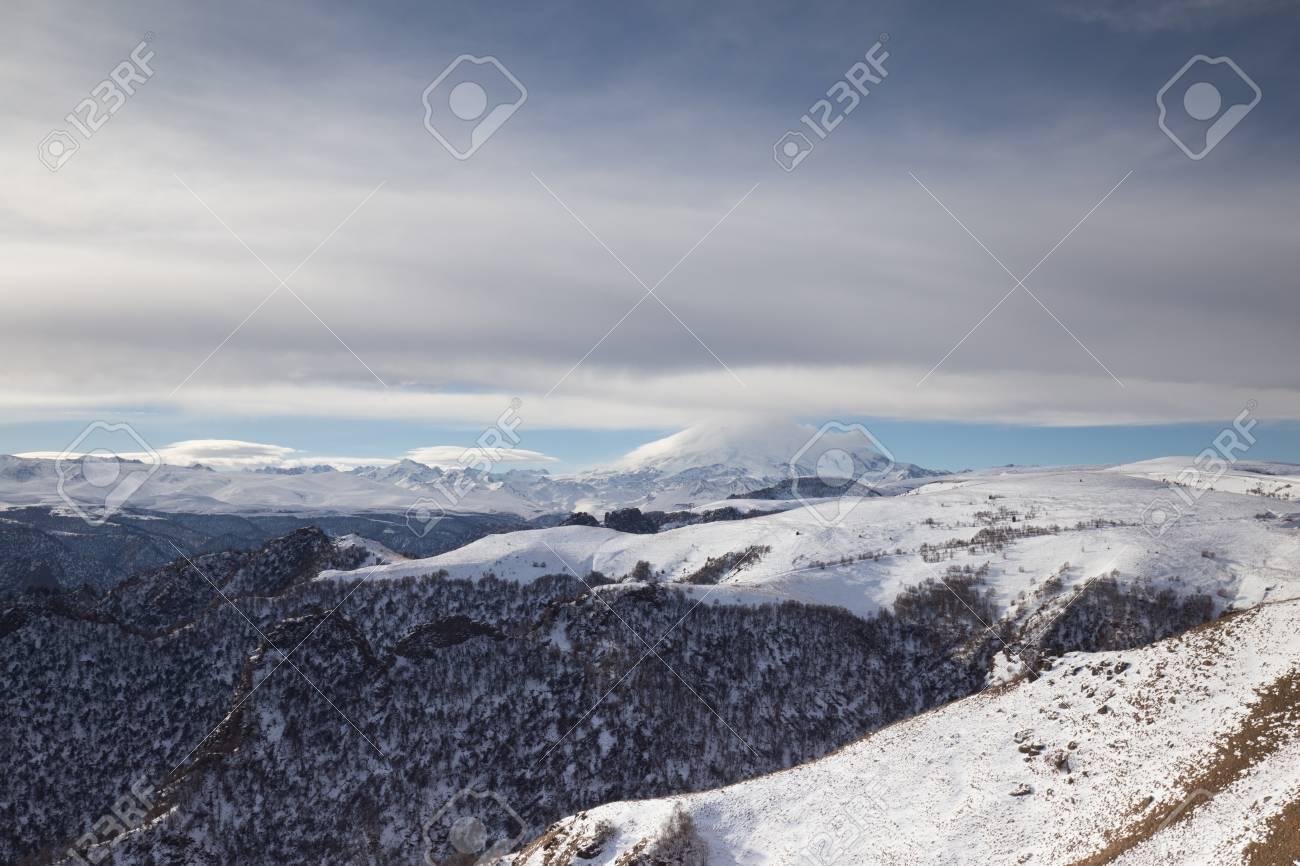 Where is the volcano Elbrus 56