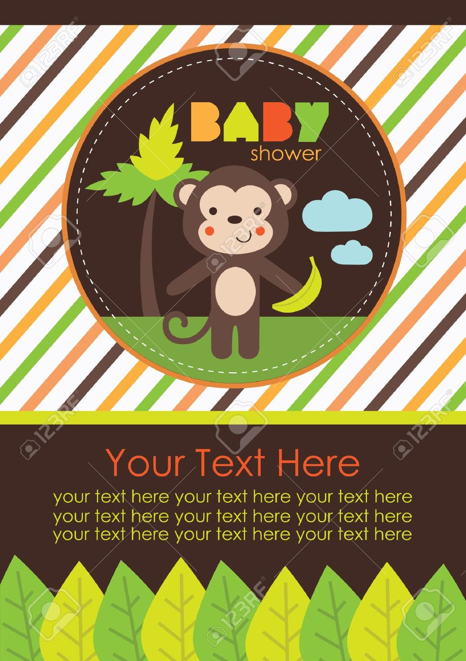 baby shower design. vector illustration Stock Vector - 20554532