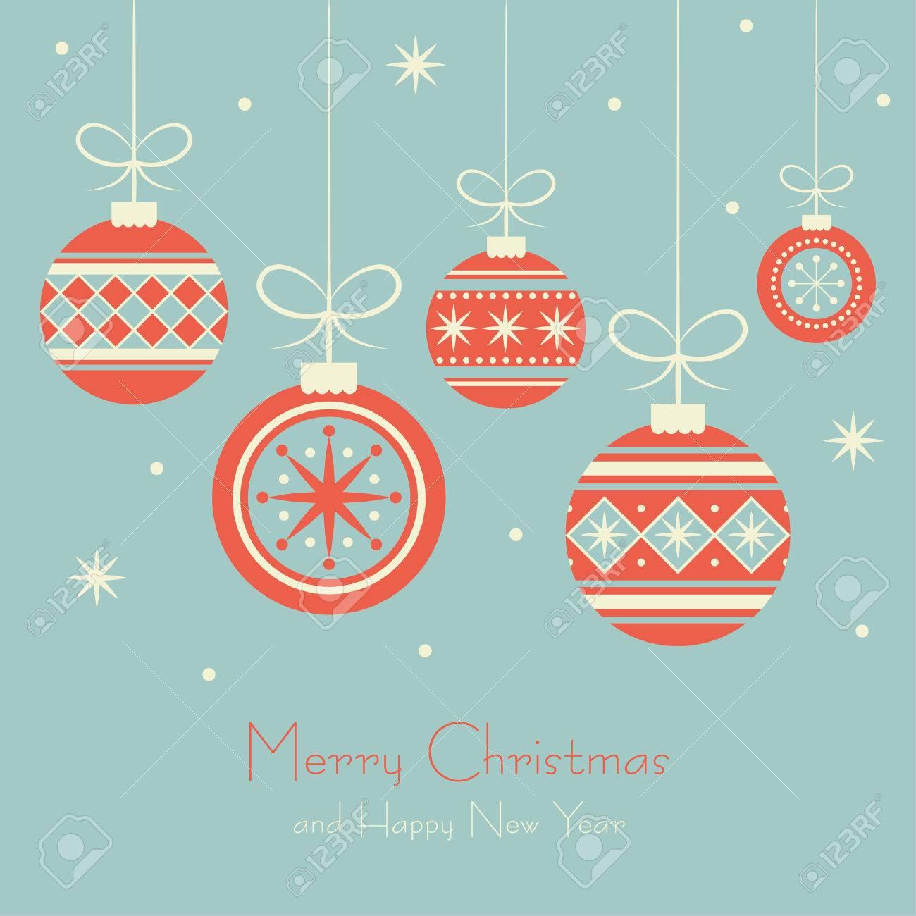 Christmas Card Design.Merry Christmas Card Design Vector Illustration