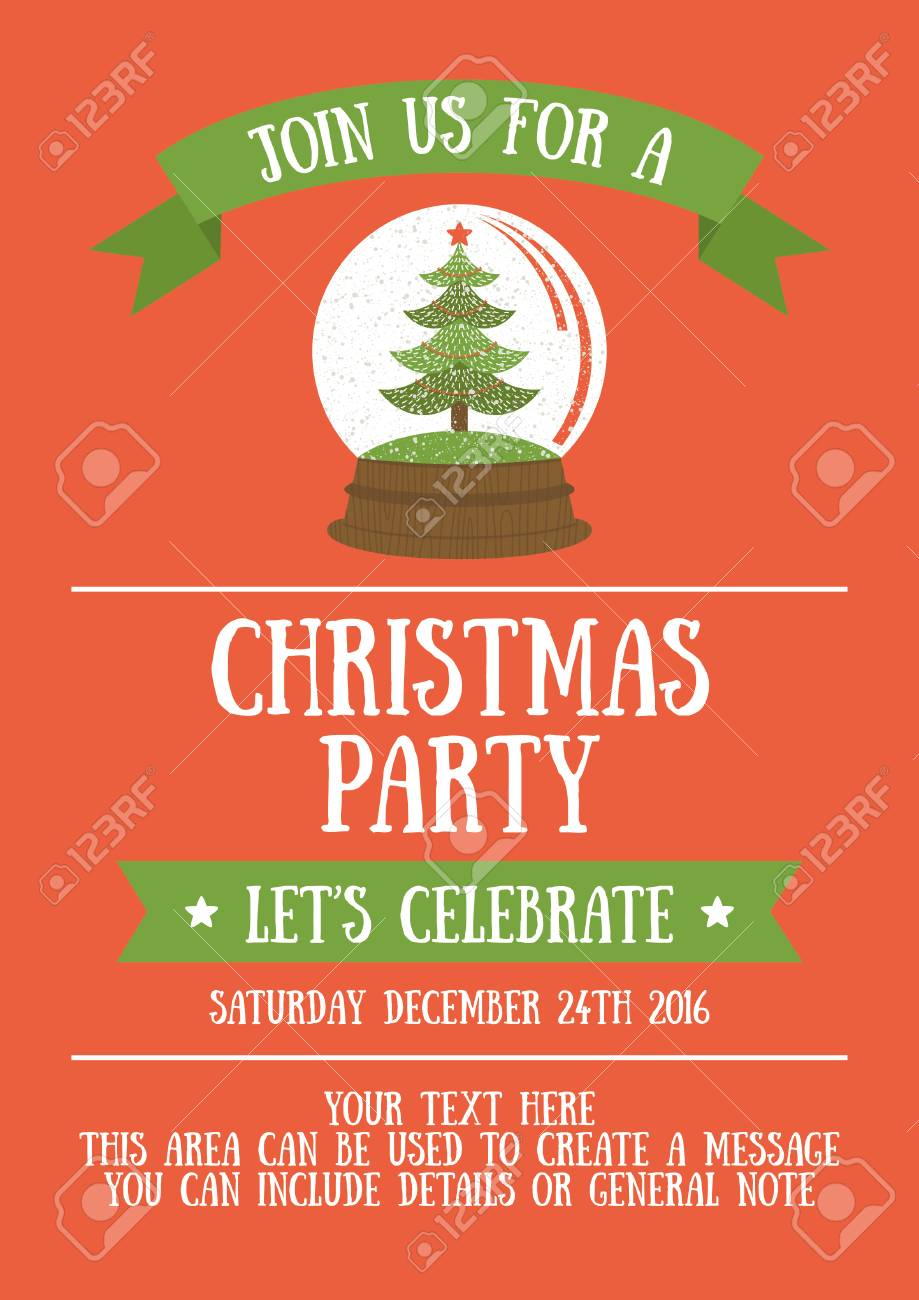 Christmas Party Invitation Cards Togo Wpart Co