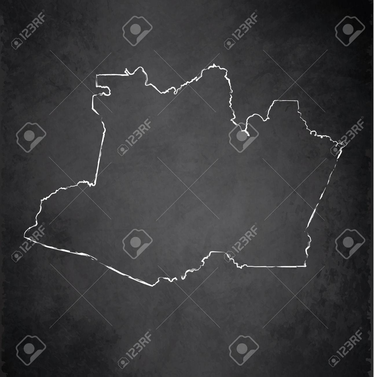 amazonia blackboard chalkboard raster maps stock photo picture and