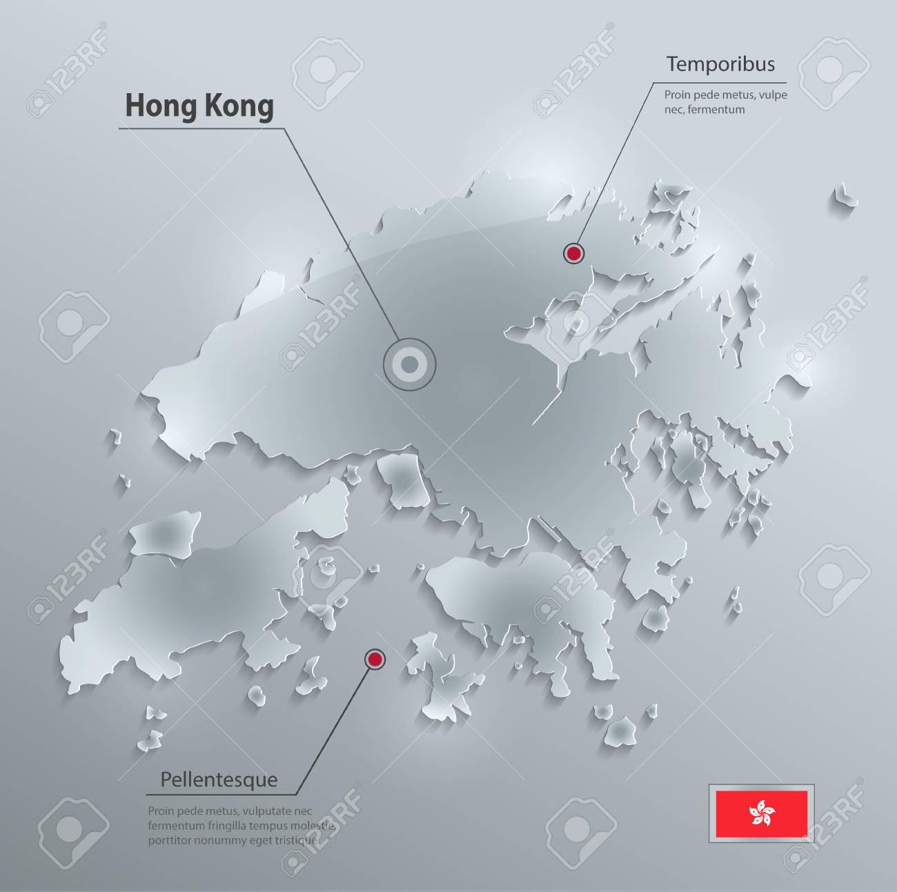 Hong Kong map - 98031551