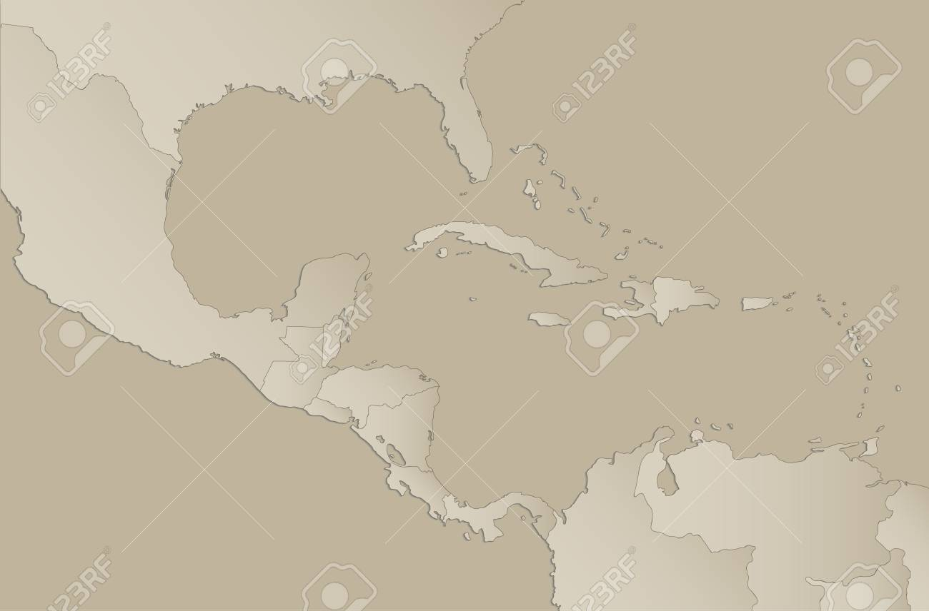 Caribbean islands Central America map with individual states.. on continents of america, gas of america, economy of america, executive branch of america, cities of america, love of america, legislative branch of america, local media of america, national of america, unions of america, indian tribes of america, politics of america, debt of america, money of america, family of america, banks of america, countries of america, military of america, laws of america, political regions of america,