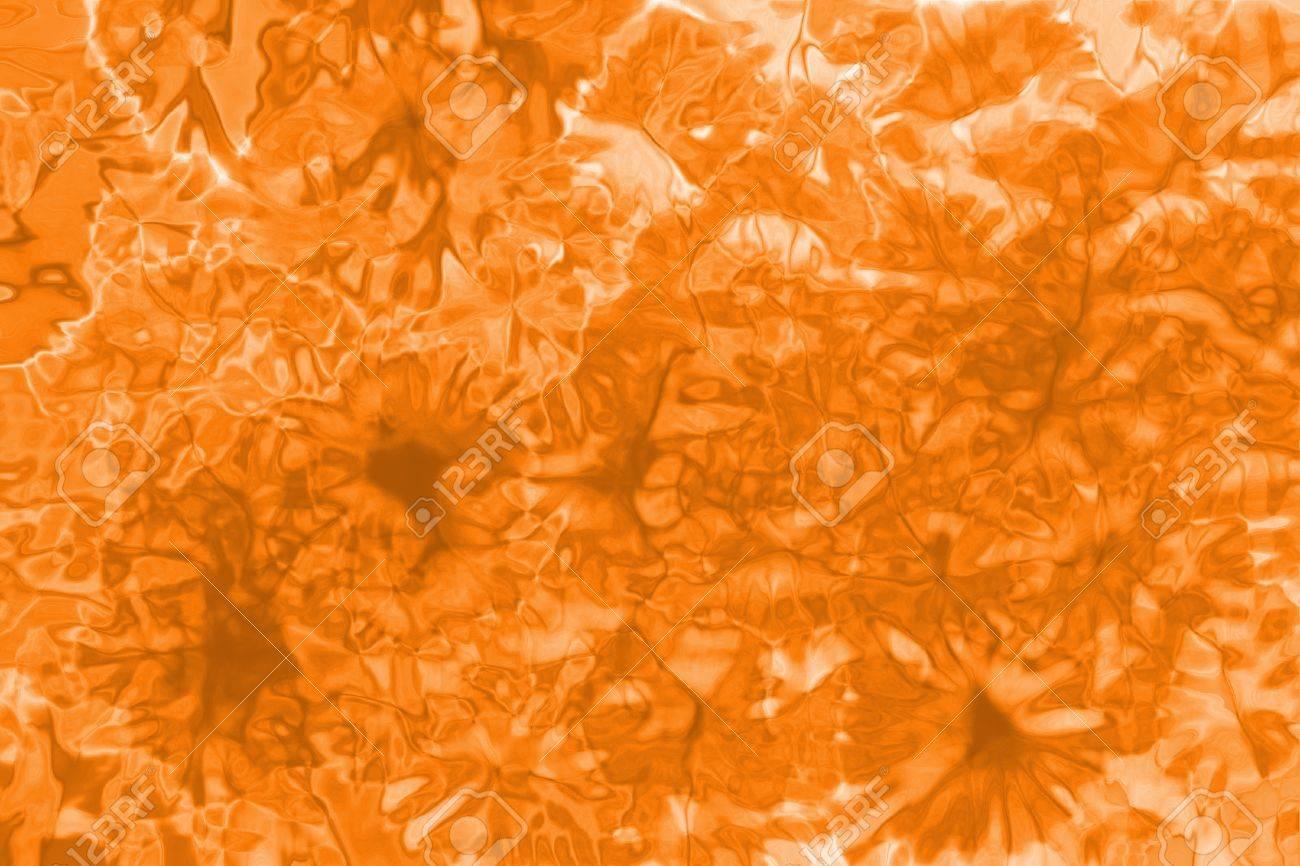 fda73d03dfda Orange Tie-Dye Background Stock Photo - 33398522