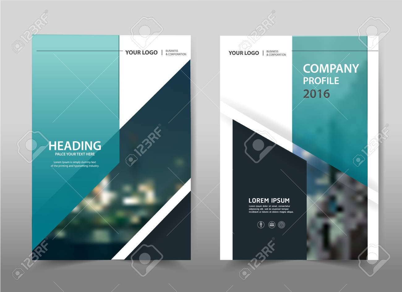 flyer design cover abstract insert print layout business