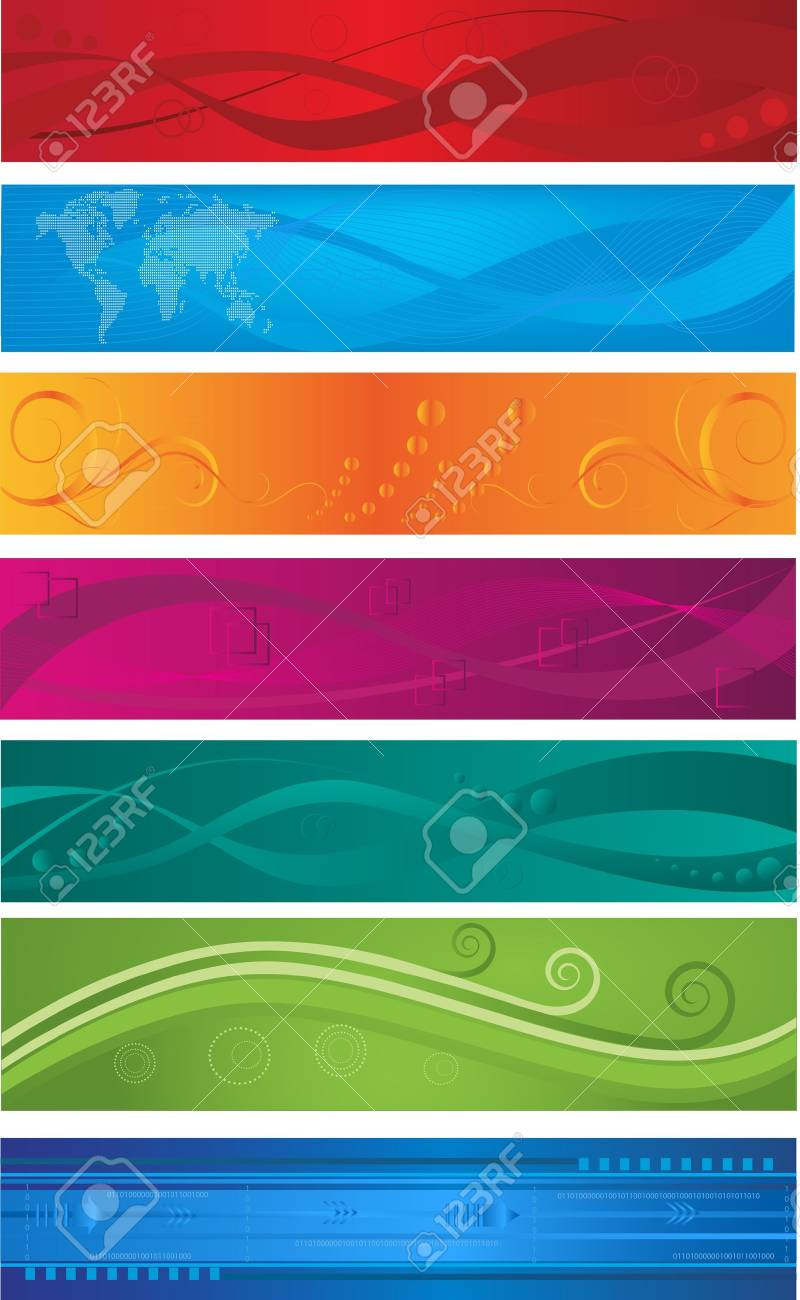 Web banners Stock Vector - 13076099