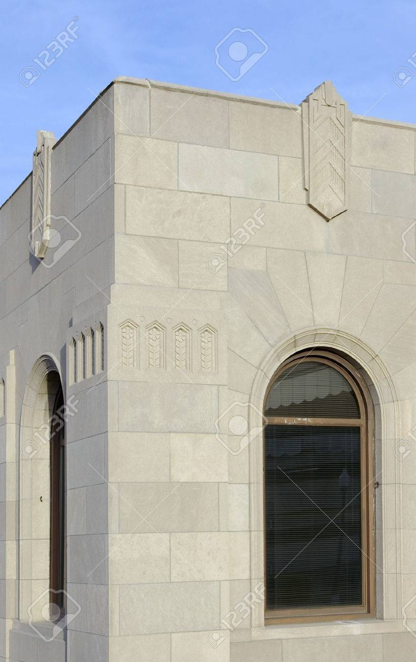 Art deco style architecture - Example Of Art Deco Style Architecture Tulsa Union Depot In Downtown Tulsa Oklahoma