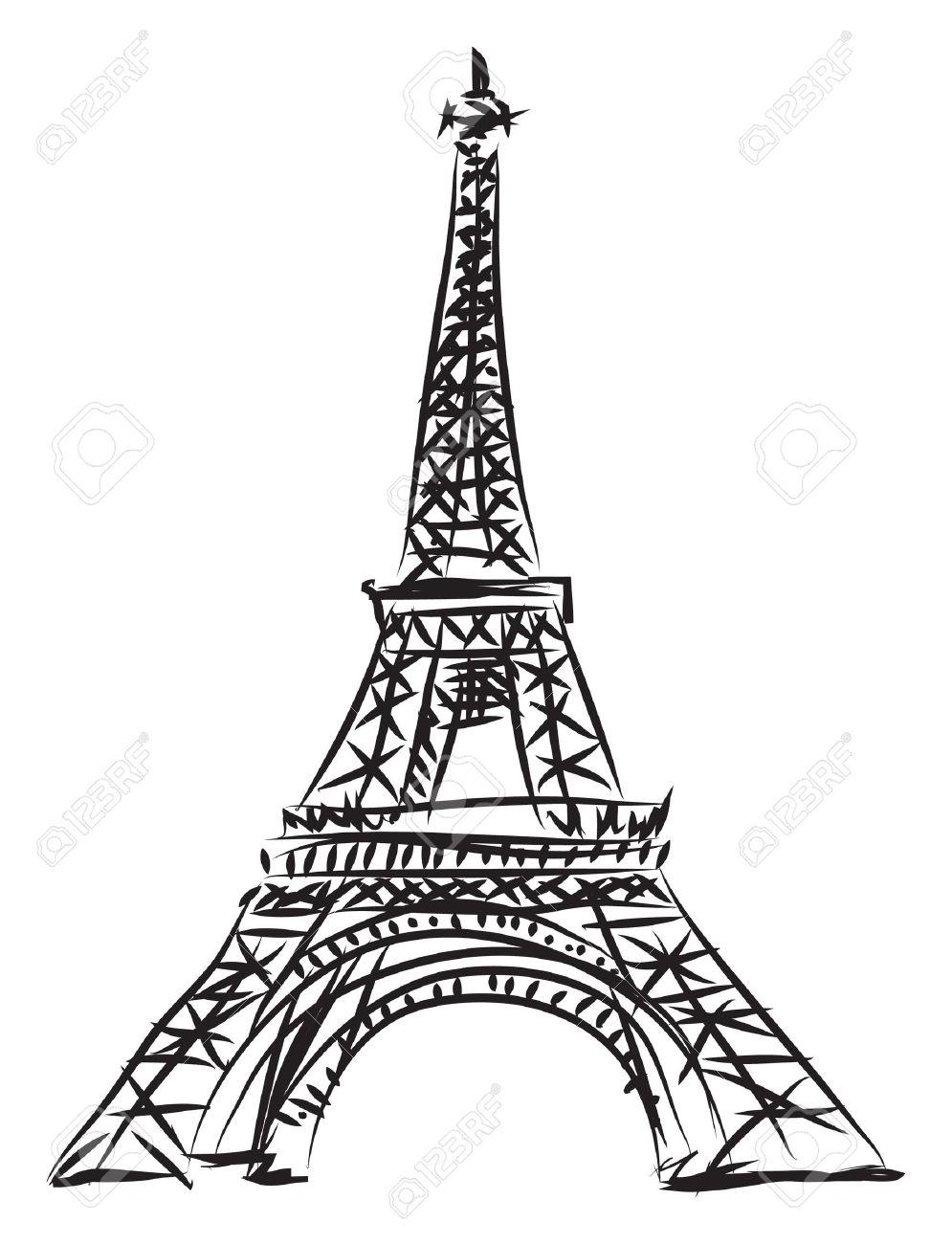 Exceptionnel Tour Eiffel Clip Art – Cliparts BG13