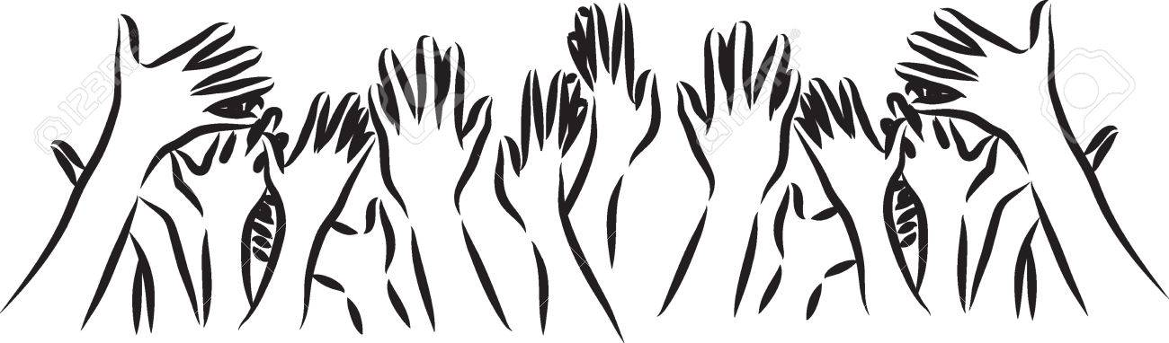 hands illustration - 38673233