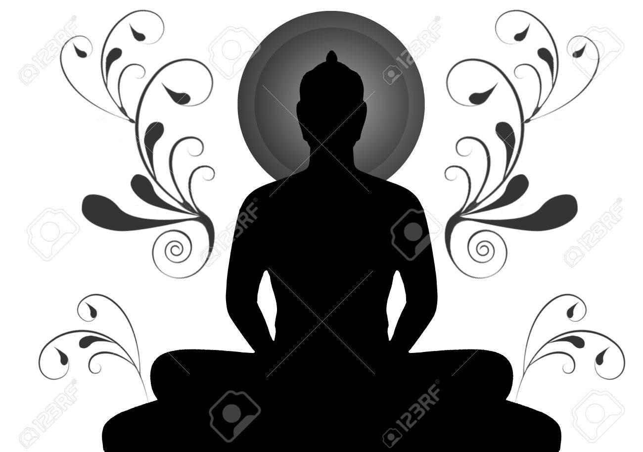 Silhouette De Bouddha Thailande Banque D Images Et Photos Libres