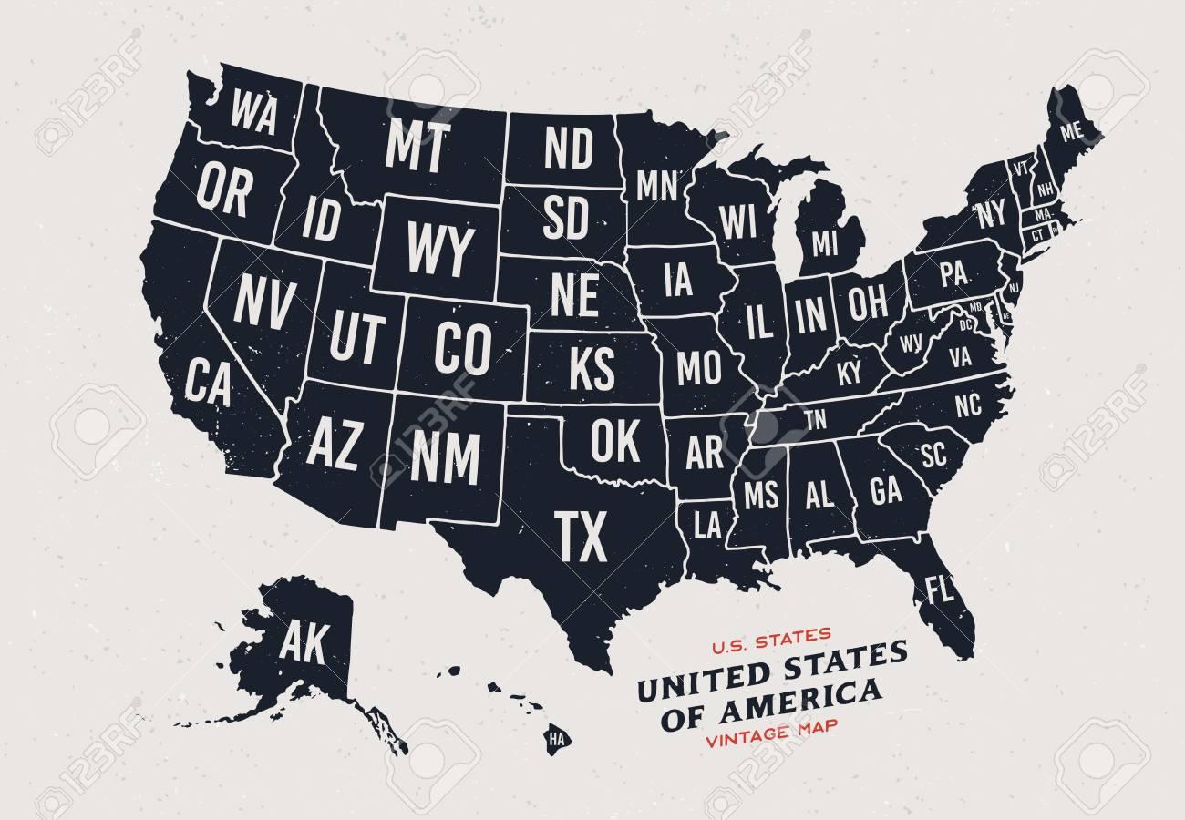 Mapa De Cosecha De Los Estados Unidos De América Mapa De Los 50 Estados Del Vector Aislados Sobre Fondo Claro Ilustraciones Vectoriales Clip Art Vectorizado Libre De Derechos Image 84609114