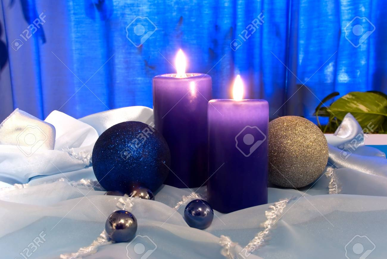 christmas ornament with candle Stock Photo - 3681574