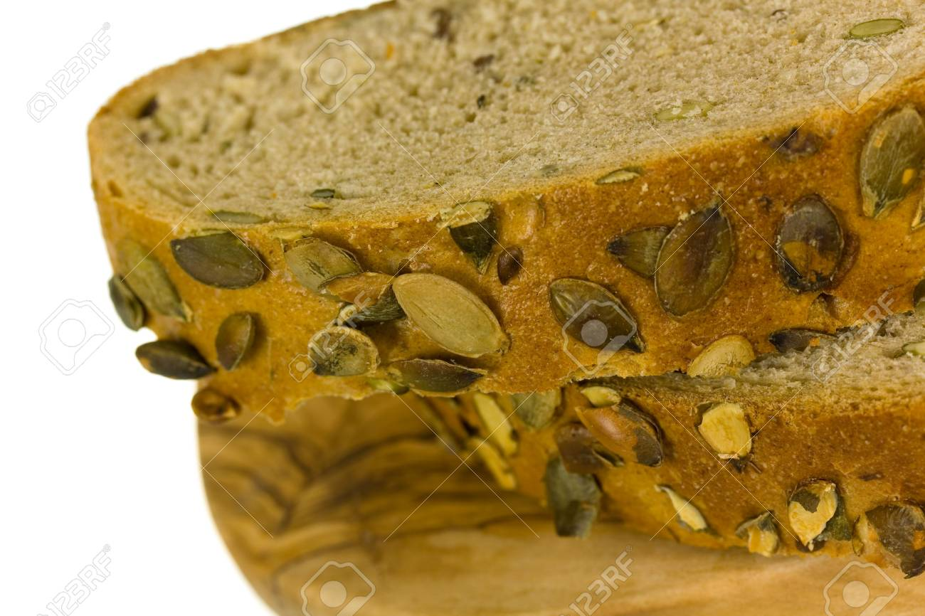 Fresh bread with ear of wheat Stock Photo - 6685847