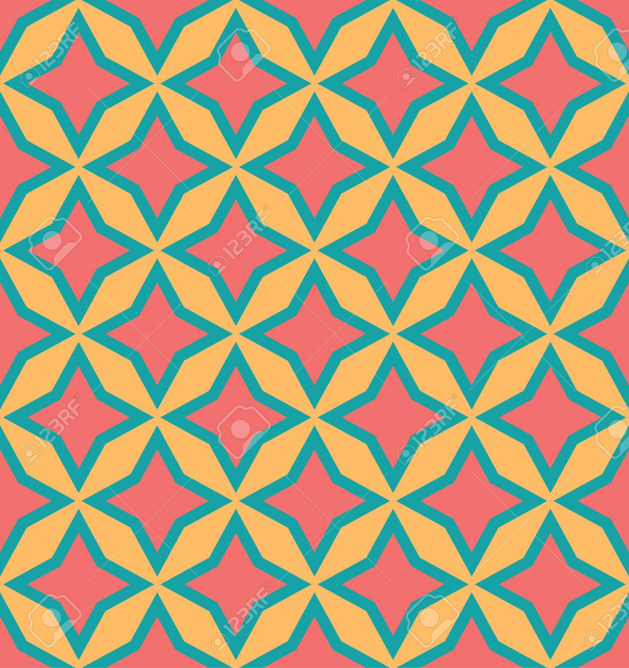 Pattern Geometry Abstract Background Seamless Geometric