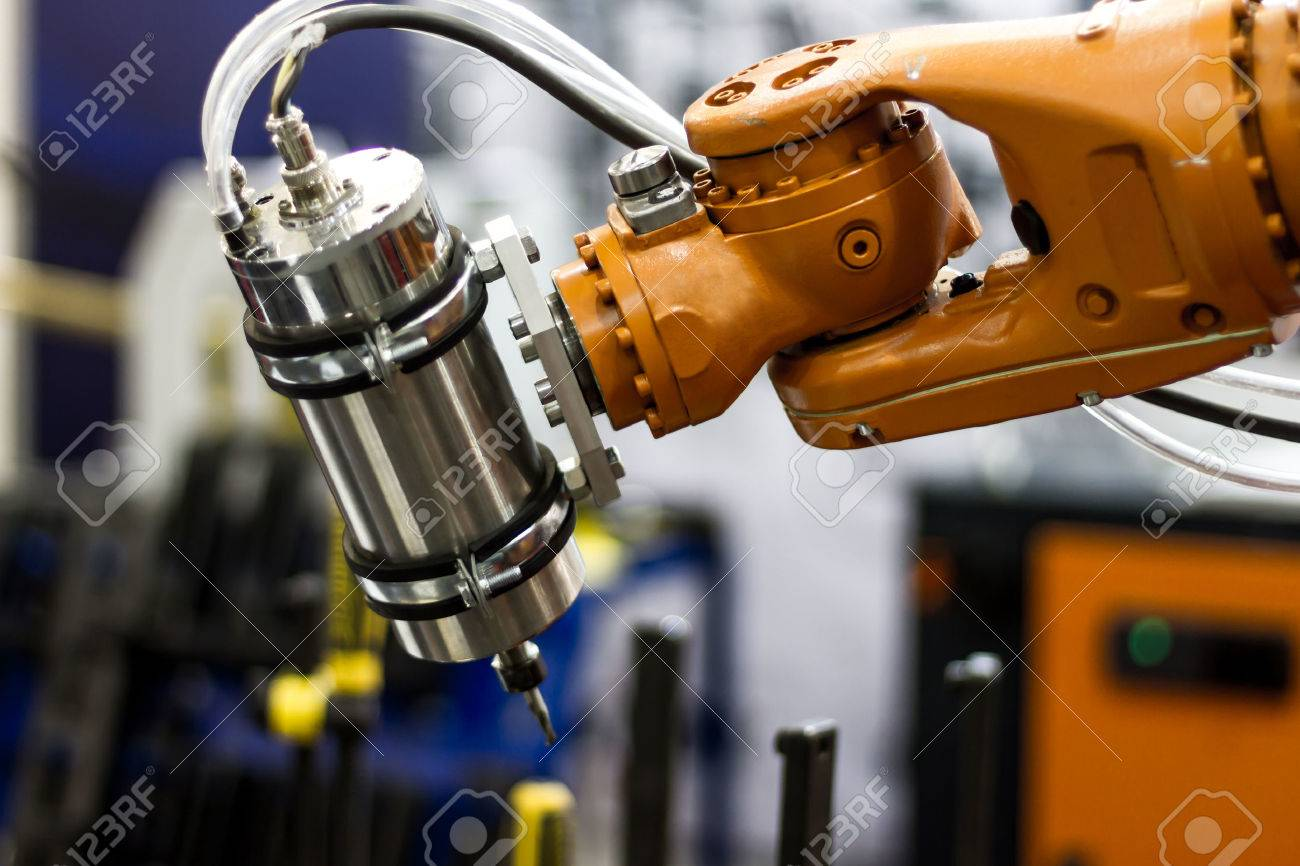 Automatic robot hand for welding heavy industry - 50658547