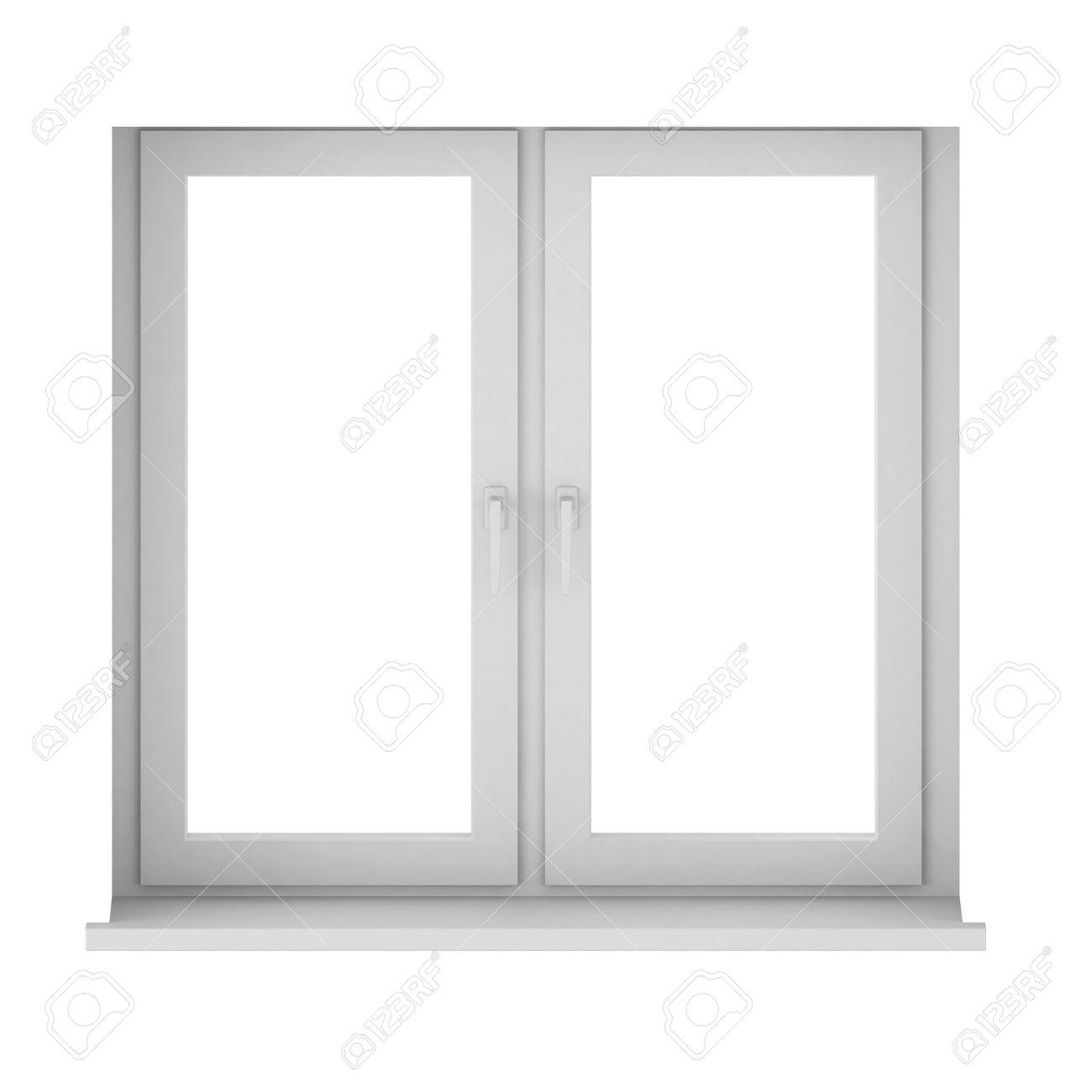 3d render of window Stock Photo - 9406028