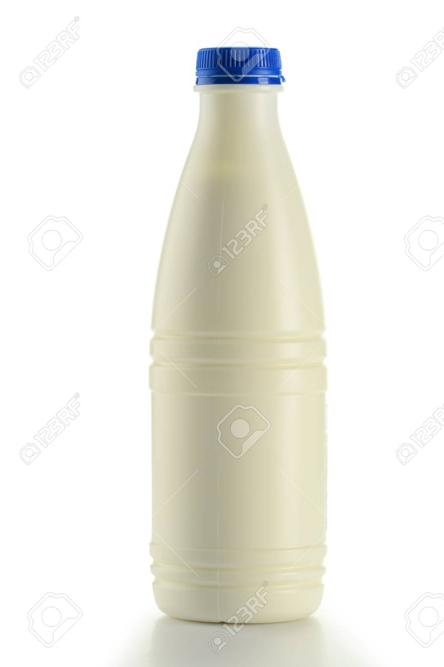 Bottle of milk isolated on white Stock Photo - 9083078